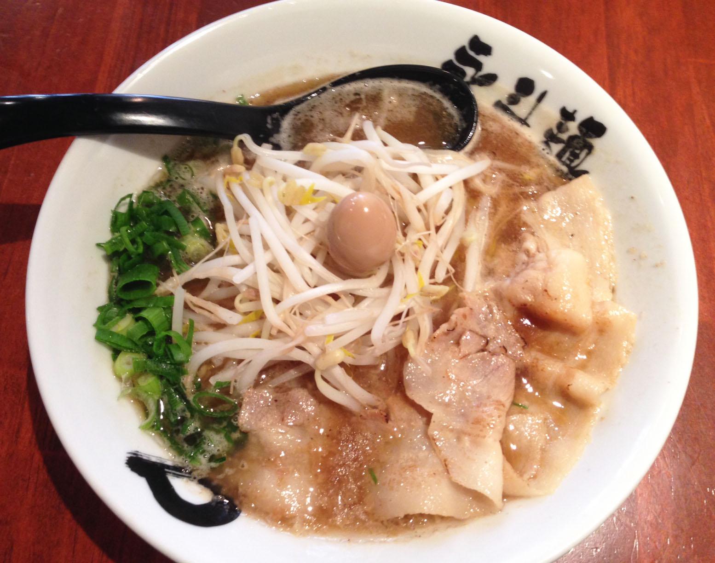永斗麺 さんま醤油ラーメン