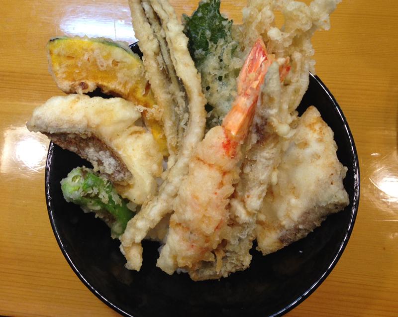 宝 海鮮天丼
