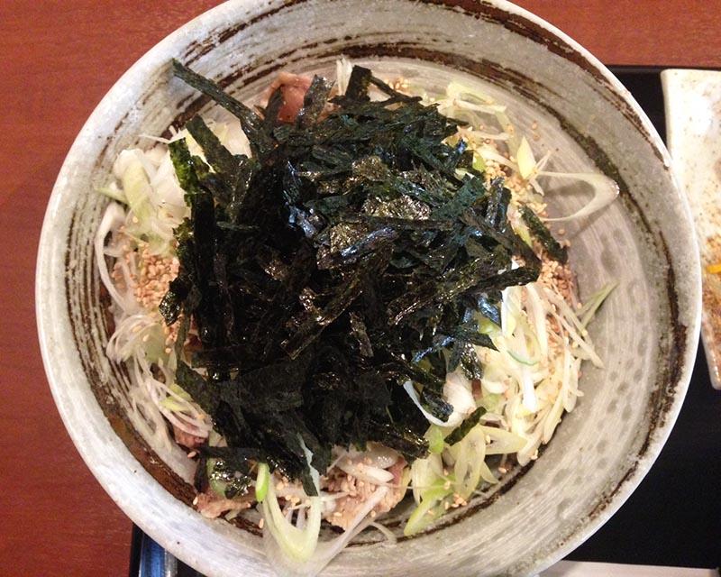 Matuno屋 ラー油蕎麦