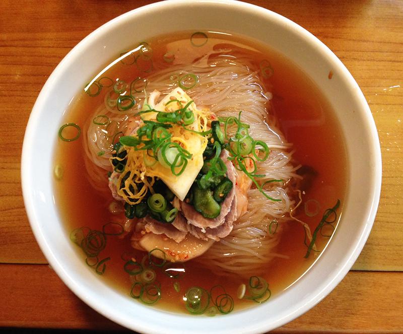 南大門 韓国冷麺