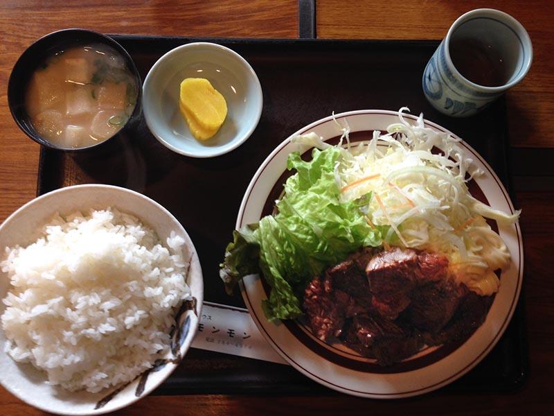 焼肉ハウス モンモン 焼肉定食