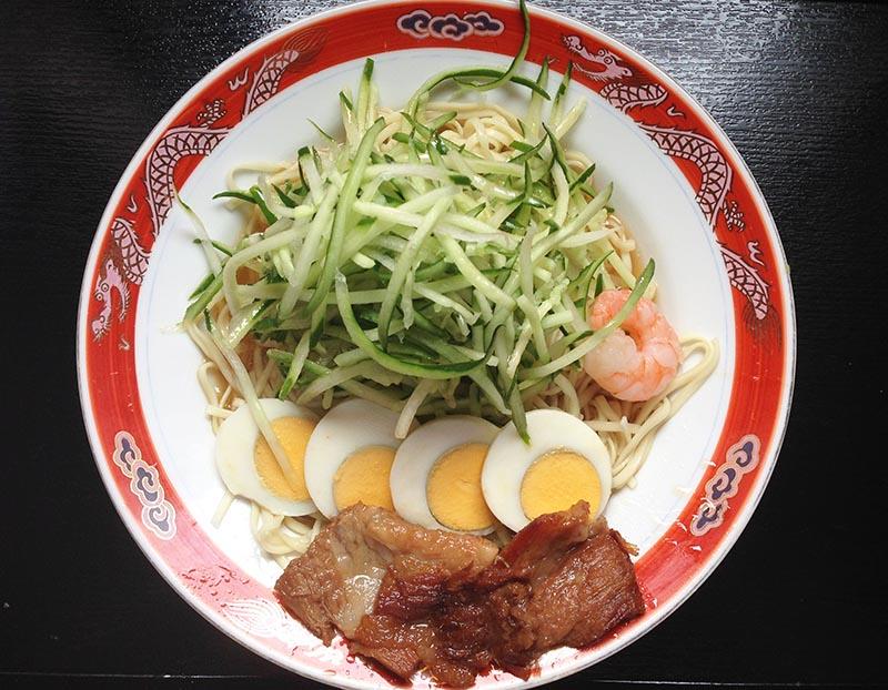 食育 オカダ 呉冷麺