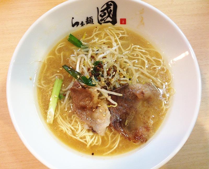 らぁ麺 國 和牛コウネラーメン(醤油)
