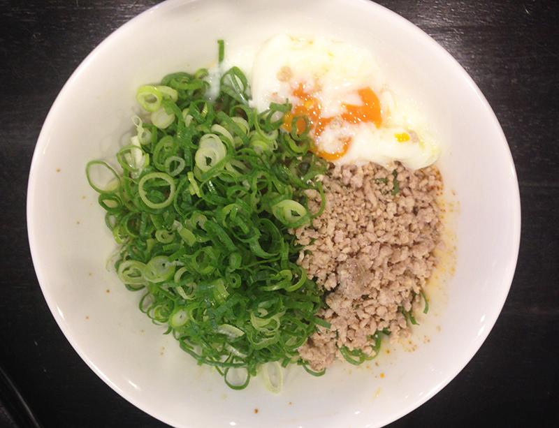 汁なし担担麺 赤麺 梵天丸