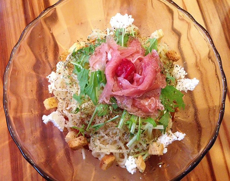 麻沙羅 氷製汁なし担担麺