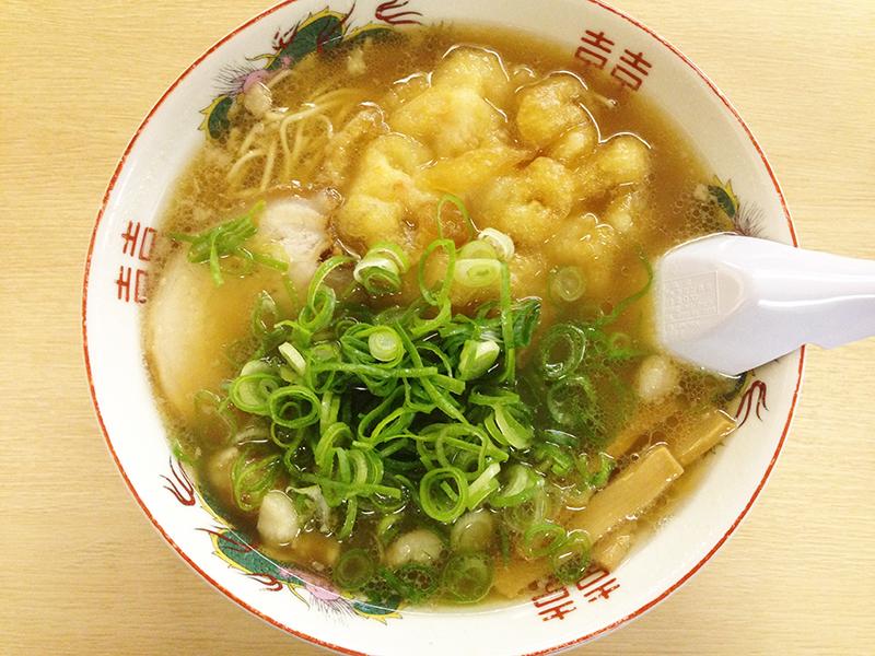 三公 尾道天ぷらラーメン