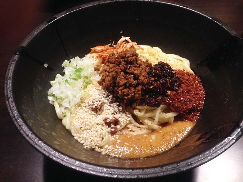 おどる タンタン麺 汁なしタンタン麺