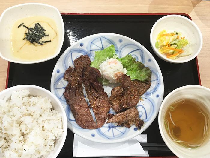 炭焼き牛たん 仙台なとり 牛たん・カルビ定食