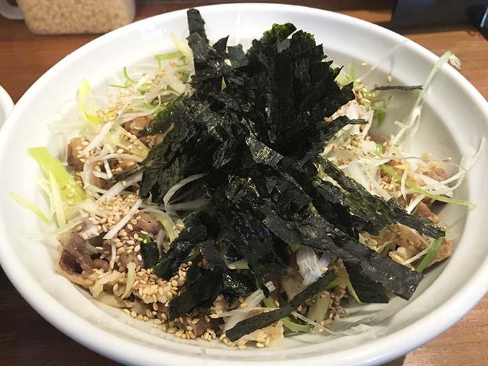 そば郎 ラー油蕎麦