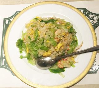 桂蘭 蟹レタス焼飯