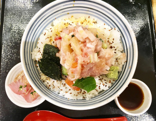 日本橋つじ半 広島レクト店 ぜいたく丼(梅)