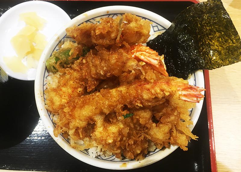 金子屋 広島レクト店 上天丼